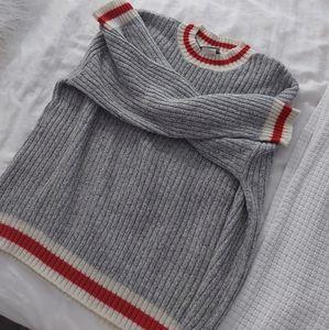 Vintage wool blend grandpa sweater